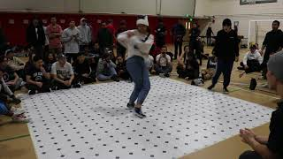 Bgirl 7 to Smoke | Battle For Boston 2017