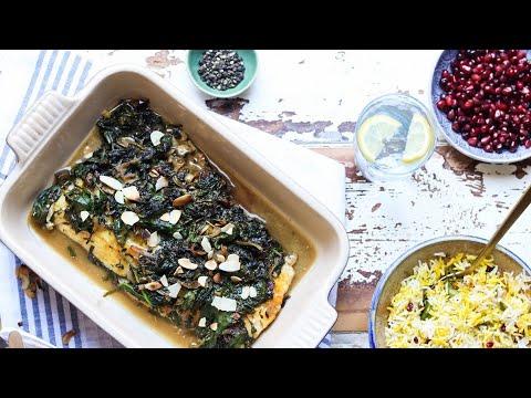Ghalieh Mahi - Persian Fish & Green Herb Dish