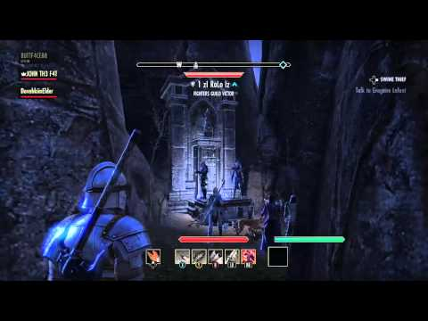 The Elder Scrolls Online: Daggerfall Vampire Shrine