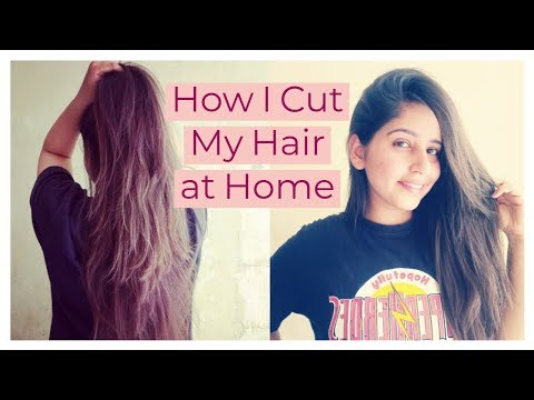 Step Haircut At Home For Long Hair Without Losing Hair Length | Ishita Bathla