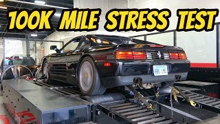 Dyno Testing My Cheap Ferrari 348 with 100,000 Miles!