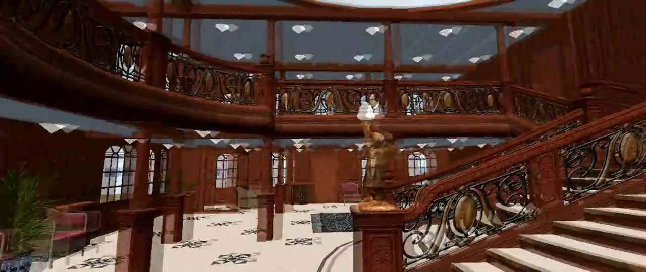 Virtual Sailor 7 Inside the TITANIC - YouTube