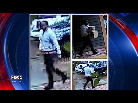 Man wanted for stealing packages