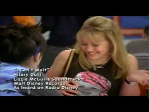 Hilary Duff/Lizzie Mcguire - I Can't Wait (Music Video)