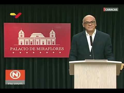 Iban a colocar bombas en Palacio de Justicia y FAES en Caracas: Rueda de prensa de Jorge Rodríguez