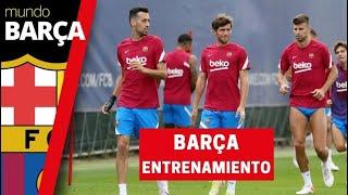 El Barça se entrena pensando en el partido ante el Granada y olvidando la derrota ante el Bayern