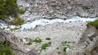 Ала-Арчинское ущелье, водопад