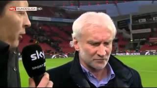 Rudi Völler explodiert