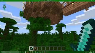 minecraft village tree