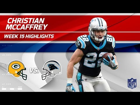 Christian McCaffrey Highlights | Packers vs. Panthers | Wk 15 Player Highlights