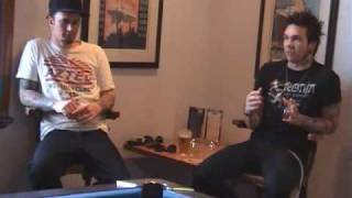 Thousand Needles in Red - Clint Boge (Butterfly Effect) and Trizo Music Interview on LIVE2U TV