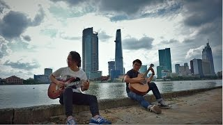 We Don't Talk Anymore-Charlie Puth - Guitar cover by JohnCr feat Khoa Le