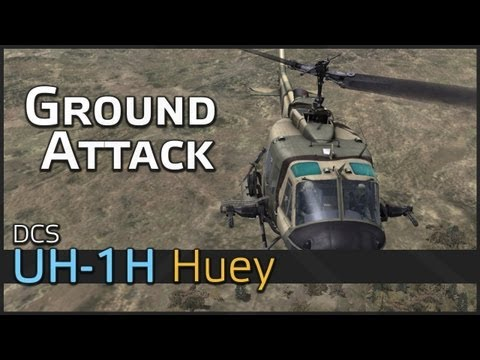 DCS UH-1H Huey Ground Attack