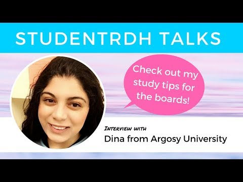 Student Dina Magdy: Tips for the NBDHE, Research as a Career Path and Memory Techniques.