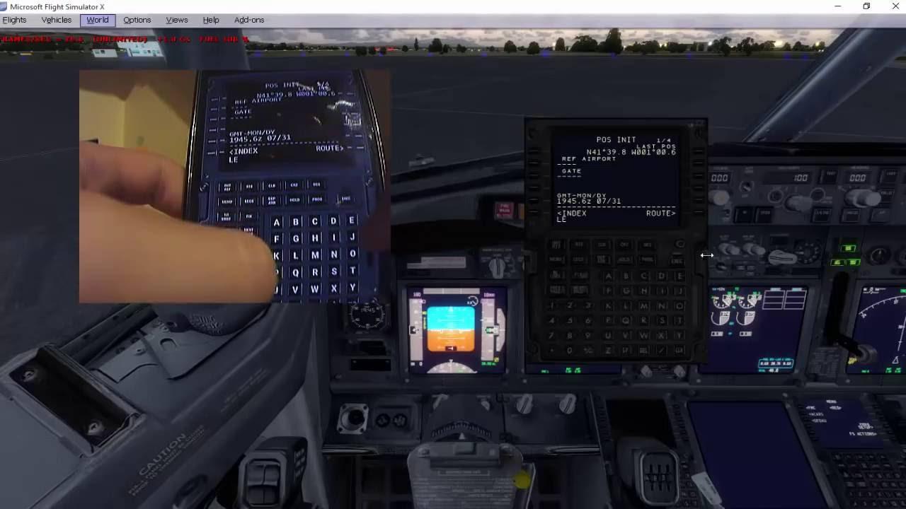 [FSX/P3D/FS2004] Virtual FMC 737-800 PMDG/iFLY