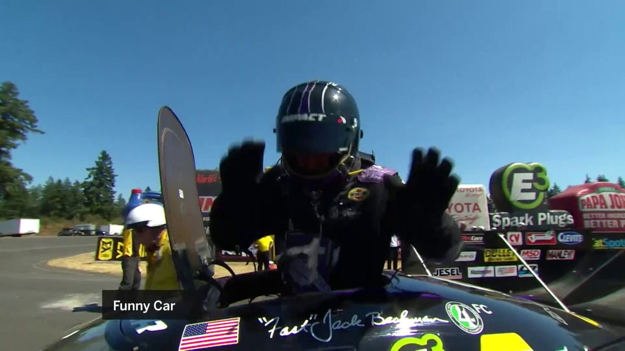 NHRA 101: Getting Into a Nitro Funny Car