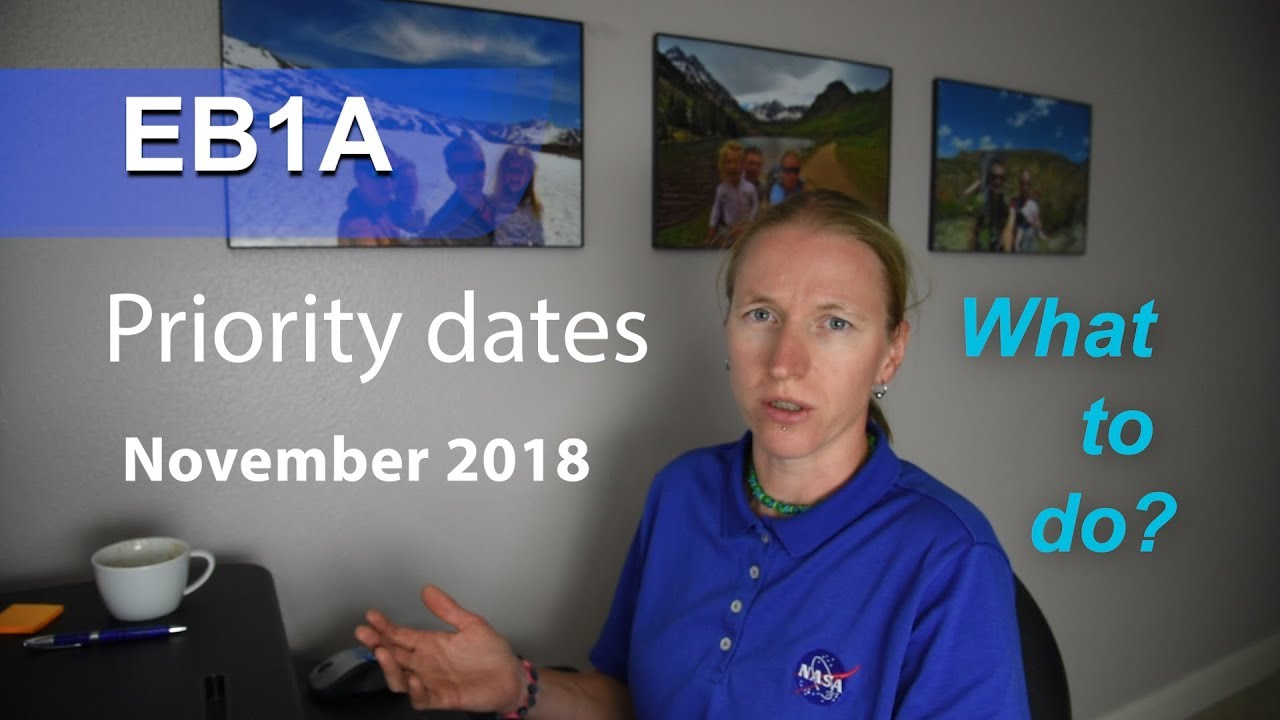 EB1A priority date UPDATE November 2018 - what to do?