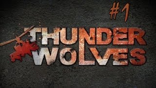 Thunder Wolves - Walkthrough - Part 1 - Takeoff (PC/X360/PS3) [HD]