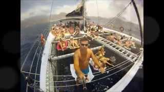 Tenerife Free Bird Catamaran trip watching dolphins summer 2014