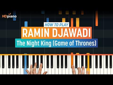 "How To Play ""The Night King"" from Game of Thrones (Ramin Djawadi) | HDpiano (Part 1) Piano Tutorial"