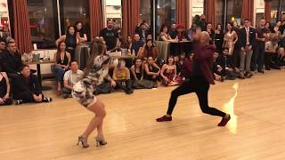 NOEL & DASHA SALSA DANCE @ THE GRANADAS LA BEST SOCIAL DANCERS COMPETITION 2018