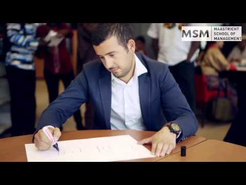 MSM Global MBA program - Now in Skopje!