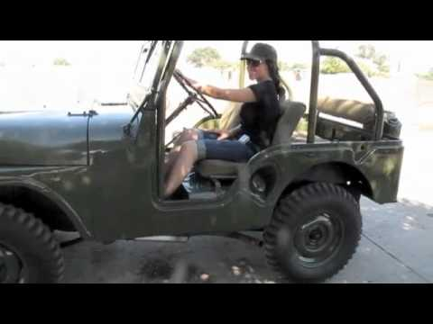 For Sale 1953 M38A1 Military Jeep CJ5 ebay - YouTube