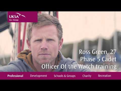 UKSA - Professional Yacht Cadetship Bursary - Uni & Work