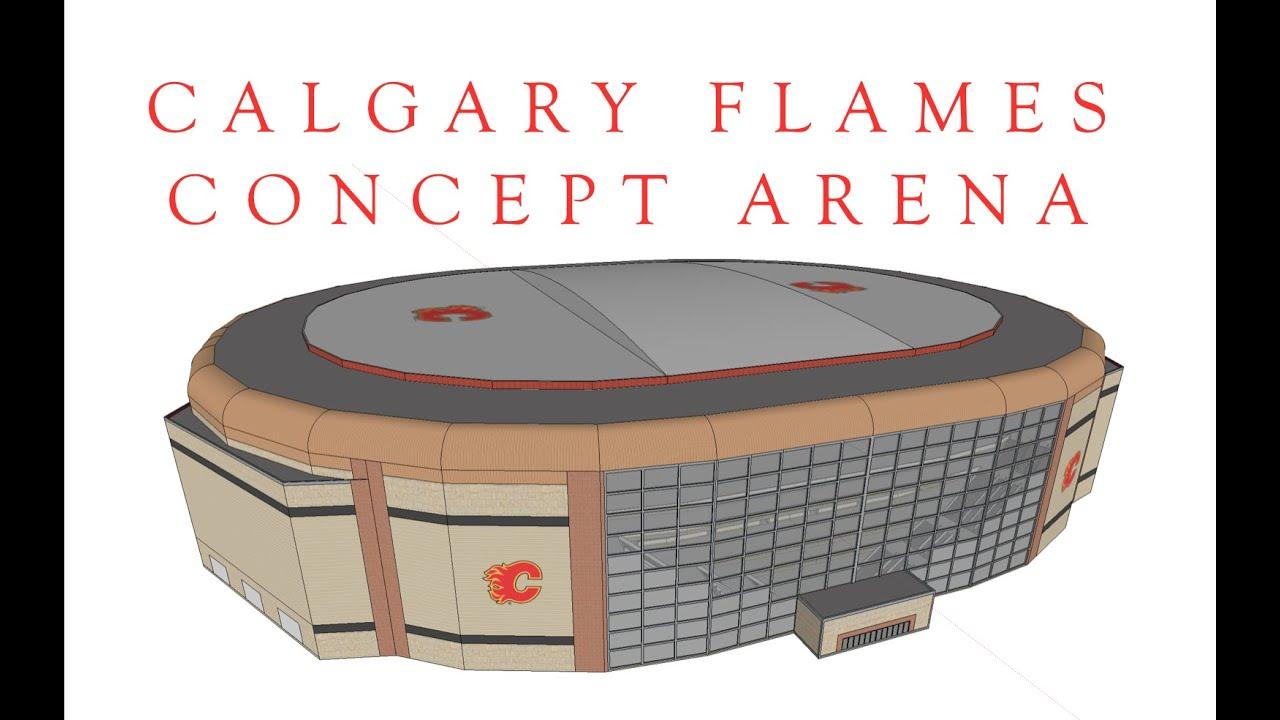 Calgary Flames Concept Arena V4 Final Youtube