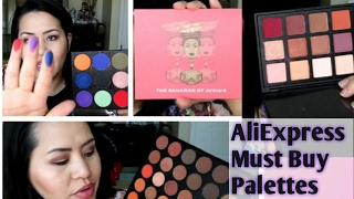 ALIEXPRESS Must Have Palettes