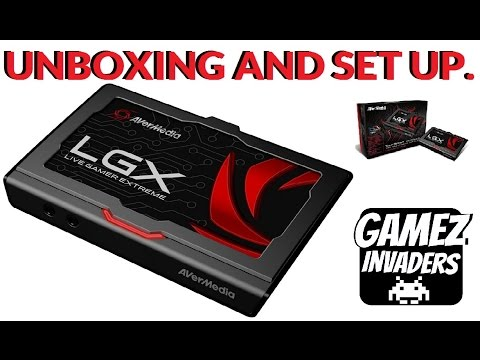AverMedia LGX: Live Gamer Extreme GC550! Capture Card Unboxing & Set Up.
