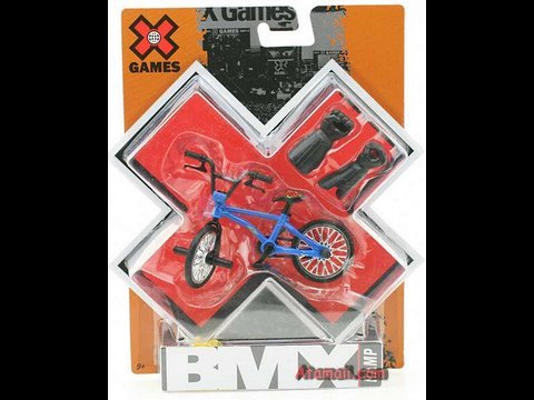 X Games Bmx Fingerbikes Toy Review Hd Youtube