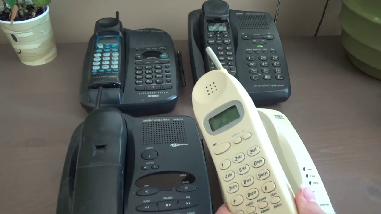 Security Of Different Types 900 MHz Cordless Phones