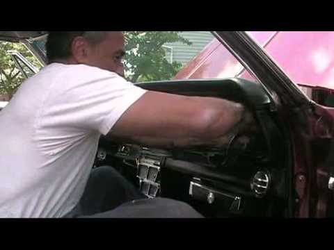 1966 Impala Dash Board Removal Youtube