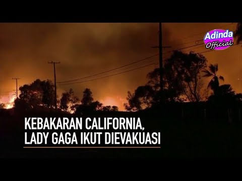 Kebakaran Di California, Lady Gaga Ikut Dievakuasi Tim Penyelamat Mp3