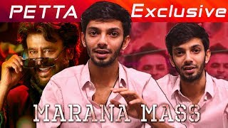 Marana Mass interview with Anirudh | Petta BGM | Superstar Rajinikanth | Part 1