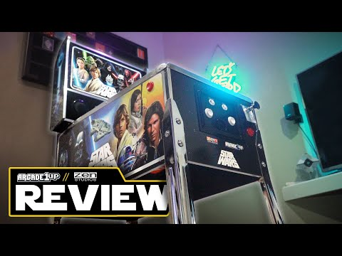 Star Wars Pinball - Arcade1Up - Review from Keto Wolf