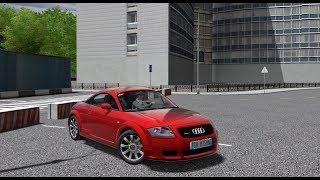 City Car Driving 1.5.5 - AUDI TT 8N 2005 Coupe | + Download [ LINK ] | 1080p & G27