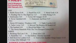 16 The Green Manalishi - Judas Priest Live Singapore 20Feb2012 ( Audience Bootleg )