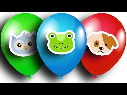 Шарики. Маша и Медведь. Киндер Сюрприз. Color Balloons Compilation. Masha and the Bear