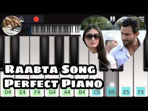 Raabta {Kehte hain khuda ne) Piano keyboard Tutorial SLOW | Movie: Agent Vinod (Keyboard piano)
