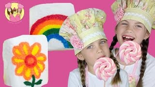MARSHMALLOW PARTY TREATS - 2 Easy Peasy Party Ideas By Charli's Crafty Kitchen