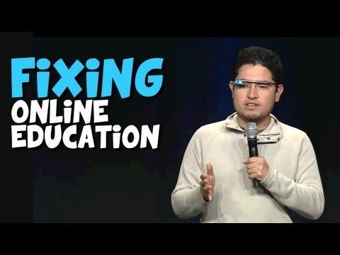 Fixing Online education with Platzi @ Google I/O's Ignite
