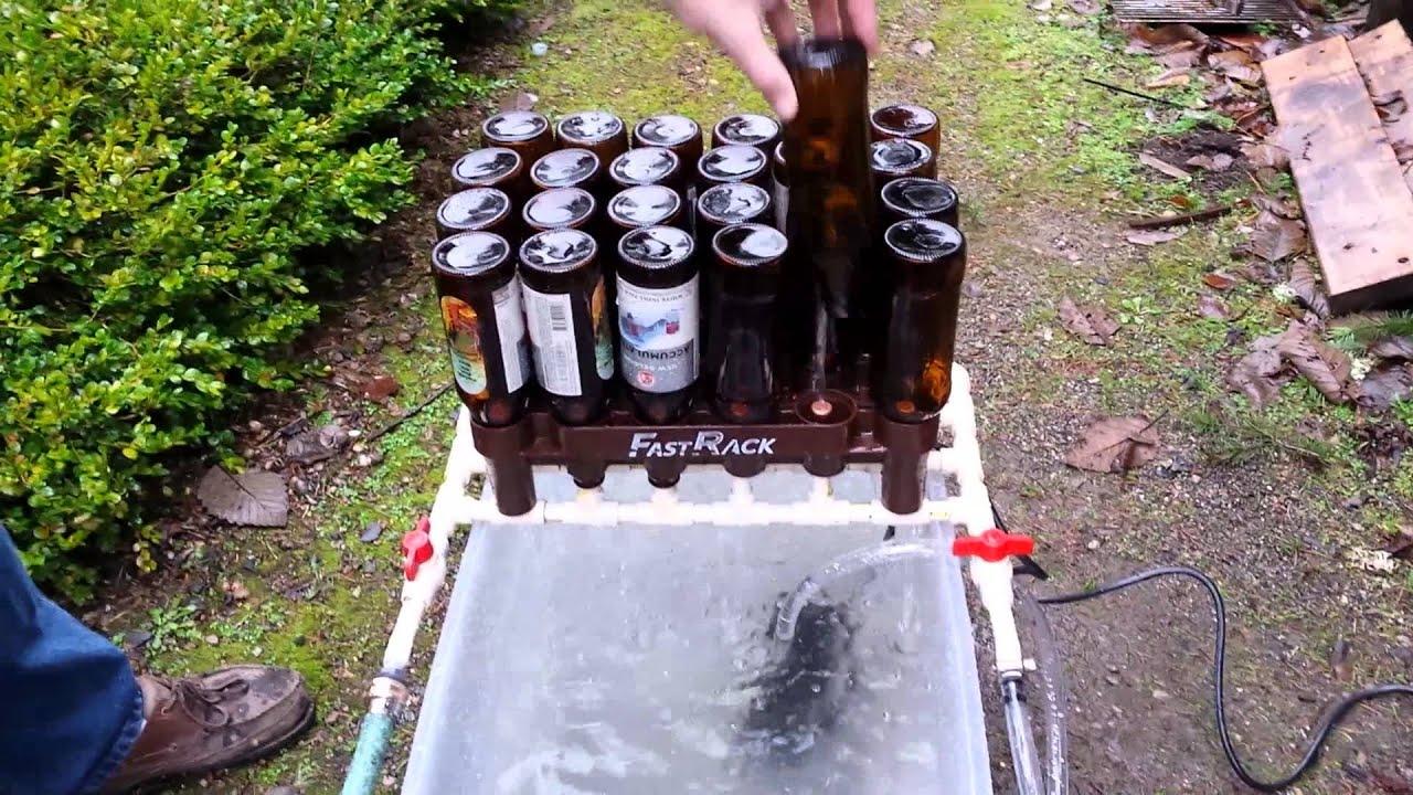 bottle sanitizing machine