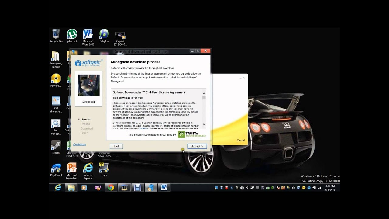 Zarak Shows you: How to download free games from Softonic
