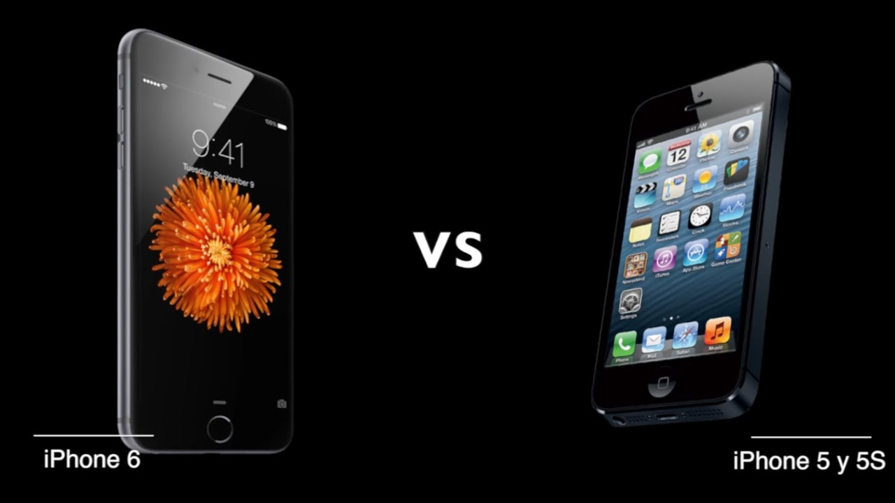 iphone 6 vs iphone 5s iphone 6 vs iphone 5s vs iphone 5 test completo en espa 241 ol 1526