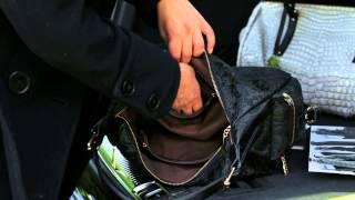 Женская сумка-мешок B1 T20143(Мы видим перед собой сумочку, выполненную по уникальной технологии, которая на эко-коже позволила передать..., 2014-08-20T09:26:55.000Z)