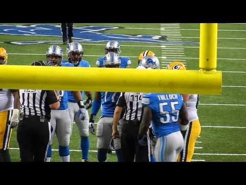 Green Bay Packers vs. Detroit Lions: Nick Fairley Sacks Matt Flynn