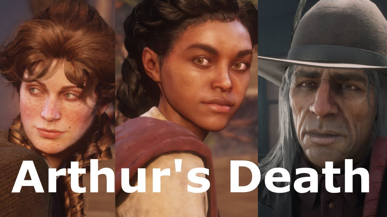 All Characters React To Arthur's Death - Red Dead Redemption 2 (RDR 2)