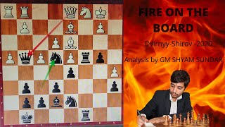 Dvirnyy-Shirov|Online Olympiad 2020| game analysis|Game of the event!